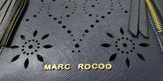 MARC ROCOO 深藍 托特包 側背包 肩背包