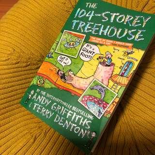 104 Storey Treehouse by Andy Griffiths