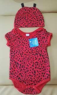 Disney_Jumper kostum animal_macan tutul merah