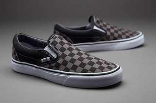 Sepatu Vans Original - Slip On Checkerboard