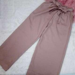 Blush Pink Palazzo Pants