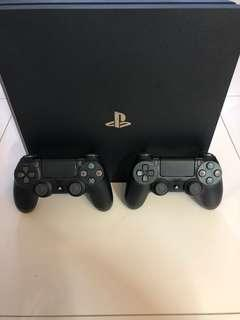 WTS- PS4 Pro 1TB with additional controller