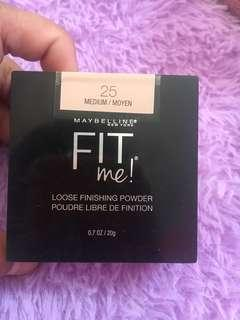 Maybelline fit me loose powder 25