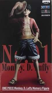 Banpresto One piece Monkey D Luffy Memory Figure