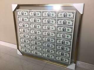 USA dollar Un-cut