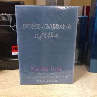 D&G light blue for men EDT Tester Perfume