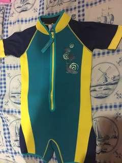 Swimming Suit For Kids brand watercolors size 6