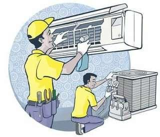 Aircon Servicing free Gas Top-up