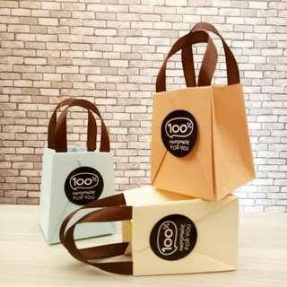 Mini Paper Bag Warna Soft