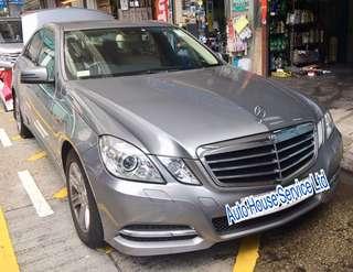 12'Benz E-class W212 車身修復施工: #左尾沙板#左尾泵把#右尾沙板#右尾門 預約電話:31739102