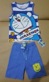 Sz96-3y_babygop_Doraemon short pant