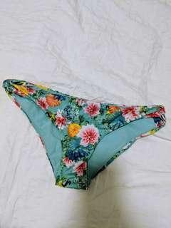 H&M Floral Bikini Bottom - Size M / UK 10