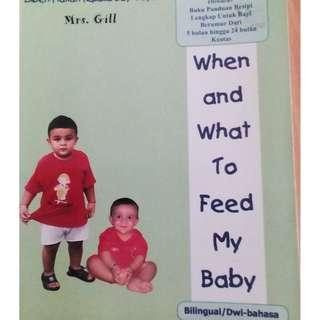 Baby and Toddler Recipe Book