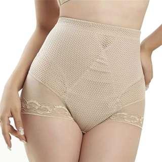 全新girdle 收腹提臀高腰塑身内褲 size:XXL-XXXL