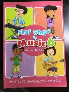 First Step to Music (Primary 6) - Second Edition