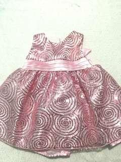 Pink Sequences Dress