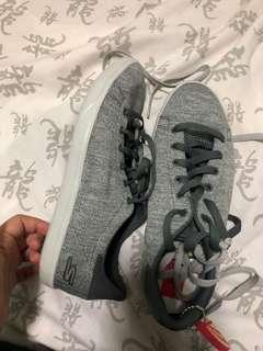 Skechers gray shoes