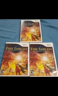 Wii Game Fire Emblem