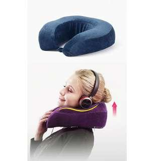 🚚 Premium Neck Support Pillow Travel Memory Foam Pillow - Airplane Pillow, Car, Bus, Train Travel, Rest, Nap, Washable & Durable with Removable Cover