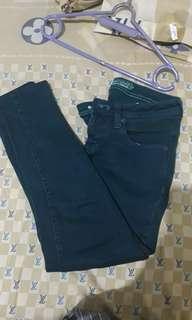 Jeans point one wanita ( Army )