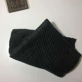 狀態良好✨Mango 質感深灰色多ways圍巾