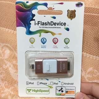 ✨i-Flash Device 256g 手機隨身碟安卓&htc&iphone✨