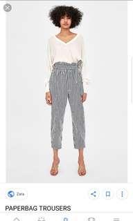 Zara Paperbag Trouser