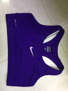 Authentic Nike sports bra non padded