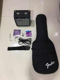 Fender Squier Stratocaster (Sunburst) Starter set