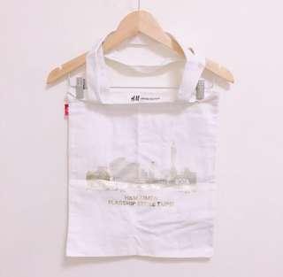 🚚 全新H&M燙金限量帆布包