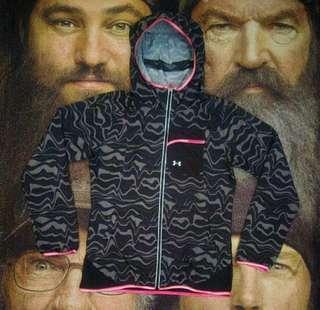 UNDER ARMOUR hoodie windbreker sweater