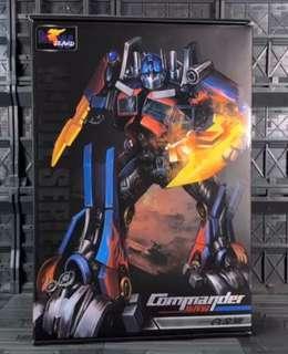 Transformers Weijiang Wei Jiang - SS-05 Studio Series Upsized Optimus Prime (MISB) plus One Free Autobot Decal Sticker Sheet