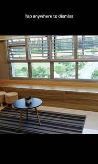 Multi-functional storage bench (great for bay windows!!)