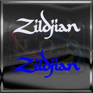 Zildjian Drum logo - Diecut Vinyl Decal