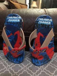 Sendal spiderman