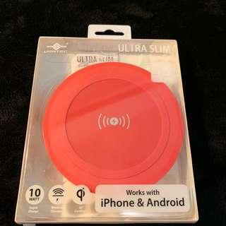 🚚 全新現貨✨超輕薄 手機用 無線快速充電盤✨ vantec 超薄✨無線充電✨