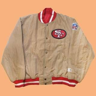JCI:Vintage Starter 舊金山 49人隊 棒球外套 古著 / 90s / 嘻哈 / NFL / 西岸灣區
