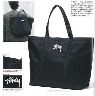 Stussy Black Shoulder Bag