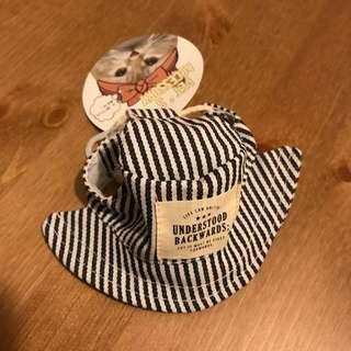 慈善義賣 全新 小中型犬貓日系帽