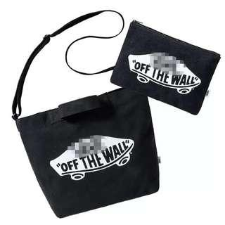 Vans Bag Set with Pouch