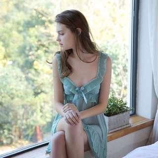 超美氣質薄紗透視睡裙
