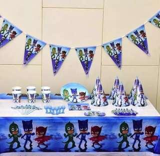 PJ masks party 🎊 Supply