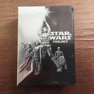 Star Wars original trilogy DVD