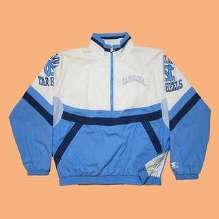 JCI:Vintage 罕見單品 Starter NCAA 北卡州大 立領半拉風衣外套 古著 / 90s / AJ