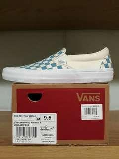 [FIRM] Vans Checkerboard Slip On Pro Adriatic Blue