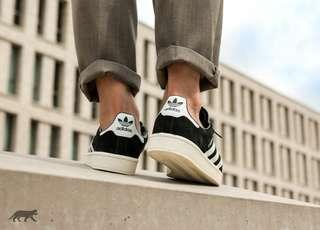 Adidas campus black white originals bnwb