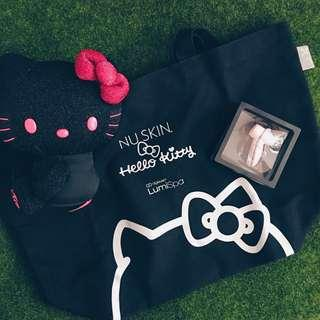 NU SKIN Hello Kitty Super Black Limited Edition Set