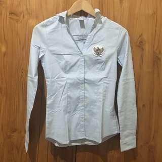 Nico Nico Work Shirt with Garuda Logo