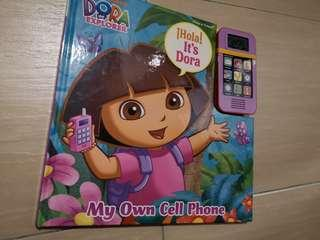 Nickelodeon Dora the Explorer Play-a-Sound book My Own Cell Phone Board Book #SBUX50 #SINGLES1111