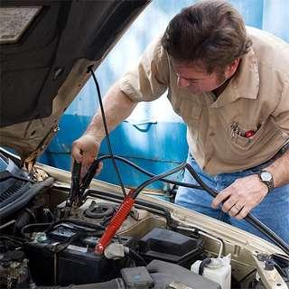 Jump start vehicle, replace battery for car, van, lorry & truck and repair alternator and starter